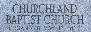 Churchland Baptist Church
